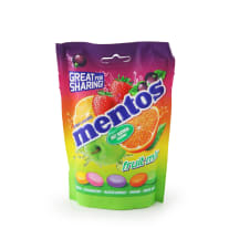Kramtomieji saldainiai MENTOS FRUIT MIX, 160g