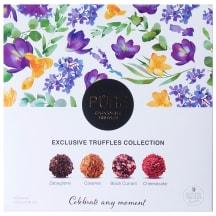 Šokolādes trifeļu Pure kolekcija Ziedi 135g