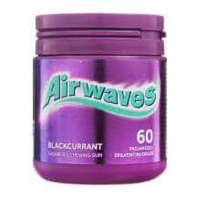 Kramt. guma su juod.serbentais, AIRWAVES, 84