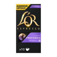 Kavos kapsulės L'OR PROFONDO, 10 vnt., 52g
