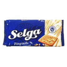 Pilno grūdo sausainiai SELGA, 180 g