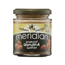 Mandeļu sviests Meridian kraukšķīgs 170g