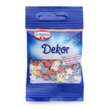 Krāsainās cukura zvaignītes Dr. Oetker 10g