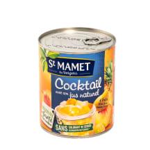 Vaisių kokteilis sirupe ST MAMET, 850 g