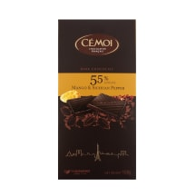Tumšā šokolāde Cemoi ar mango-čili 100g