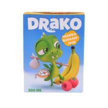Jook vaarika-banaani Drako 0,2l
