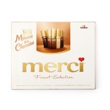 Saldainių rinkinys MERCI MOUSSE, 210 g