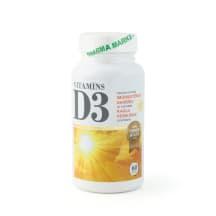 Uztura bagātinātājs D3 vitamīns 1000IU N60