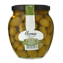 Žaliosios alyvuogės su kauliuk., OLYMP, 1000g
