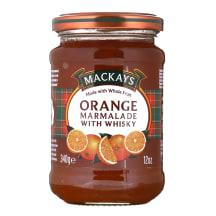 Apelsinų marmeladas su viskiu MACKAYS, 340g