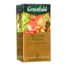 Roheline tee Mellow Peach Greenfield 25x1,8g