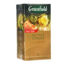 Žalioji arbata GREENFIELD QUINCE GINGER, 50g