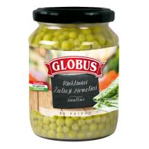 Konservuoti žalieji žirneliai GLOBUS, 660g