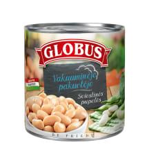 Konservuots sviestinės pupelės GLOBUS, 326g