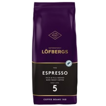 Kafijas pupiņas Lofbergs The Espresso 1kg
