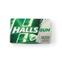 Kramtom. guma HALLS ICE RUSH SPEARMINT, 18g