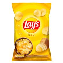 Bulvių traškučiai su druska LAY'S, 140 g