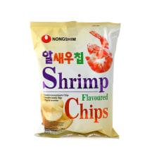 Krevečių skonio traškučiai NONG SHIM, 75g