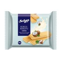 Vafeles Selga ar kokosriekstu garšu 180g