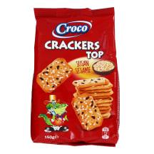 Krekeriai su sezamo sėklomis CROCO TOP, 150 g