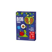 Obuolių ir mėlynių juostelės BOB SNAIL, 60 g