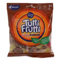 Kummikommid Fazer Tutti Frutti Choco 170g