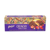 Šokol.küpsised karamelli&kirsi Crunchy 140g