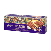 Šokol.küpsised karamelli&kookose Crunchy 140g