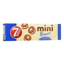 Sausainiai su vanilės įd., 7 DAYS MINI, 100g