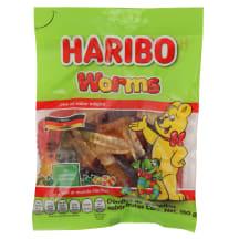 Želė saldainiai HARIBO WORMS, 150 g