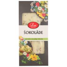 Šokolāde Lāči baltā ar sieru un sēklām 85g