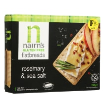 Duonelės su rozmarin.ir druska NAIRN'S, 150 g
