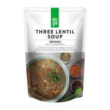 Ekologiška trijų lęšių sriuba AUGA, 400g