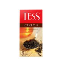 Melnā tēja Tess Ceylon 25x2g