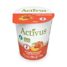 Auzu pārslas Activus ar persikiem 70g