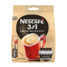 Kohv lahust. 3in1 Sweet&Creamy Nescafé 10x17g