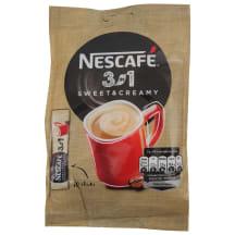 Šķīst. kafijas dzēr. Nescafe Sweet&Cr. 10x17g