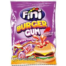 Košļājamā gumija Fini Burger ar pildījumu 80g