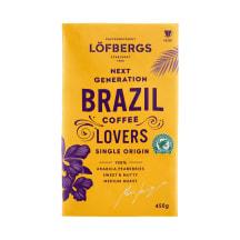 Jahvatatud kohv Brazil Löfbergs 450g