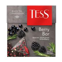 Tēja melnā Tess Pyramids Berry Bar 20x1,8g