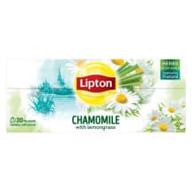Tee kummeli ja sidrunheinaga Lipton 20x1,3g