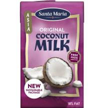 Kokosr. piens Santa Maria oriģinālais 250ml