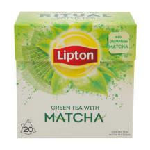 Zaļā Lipton zaļā Matcha 20x1,5g