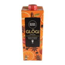 Alkoholivaba glögi ahjuõuna-apelsini Aura 1l
