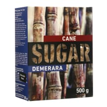 Cukranendrių cukrus DEMERARA, 500 g