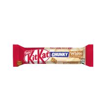 Vahvlibatoon valges šokolaadis Nestle 40g