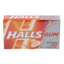 Närimiskumm tsitrus Halls Ice Rush 18g