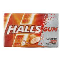 Kramtomoji guma HALLS CITRUS, 18g