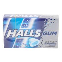 Närimiskumm piparmünt Halls Ice Rush 18g