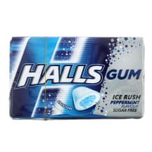 Kramtomoji guma HALLS PEPPERMINT, 18g